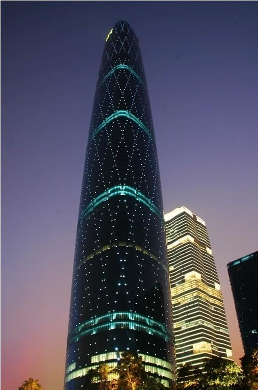 广东西塔(广州国际金融中心)