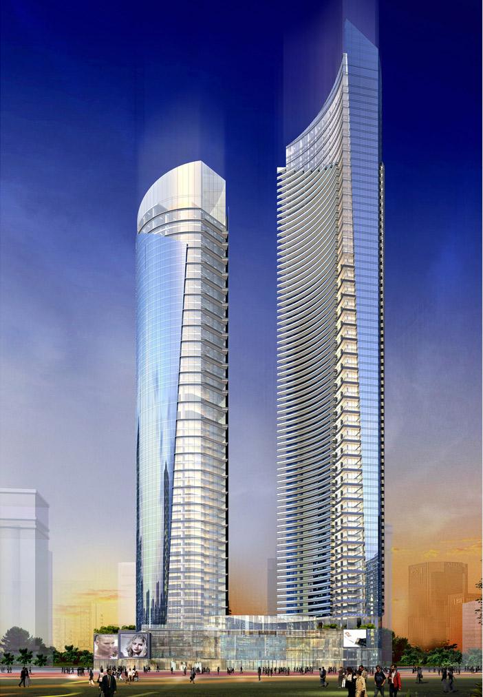 深圳最重高的钢结构大楼