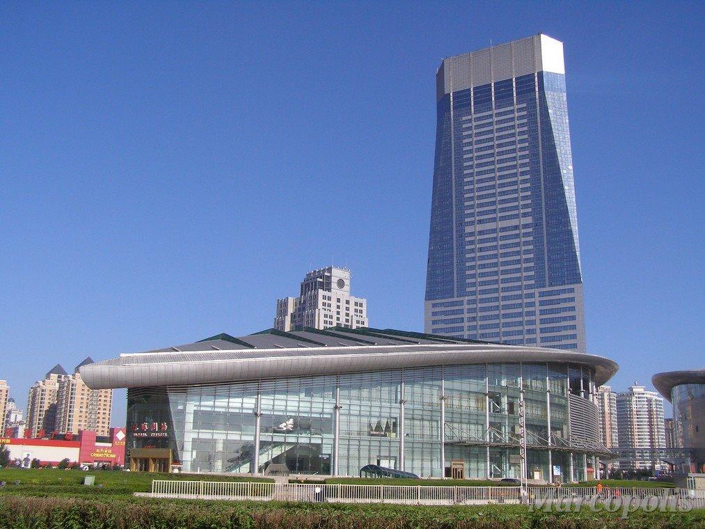 哈尔滨国际体育会展中心预应力单索幕墙设计