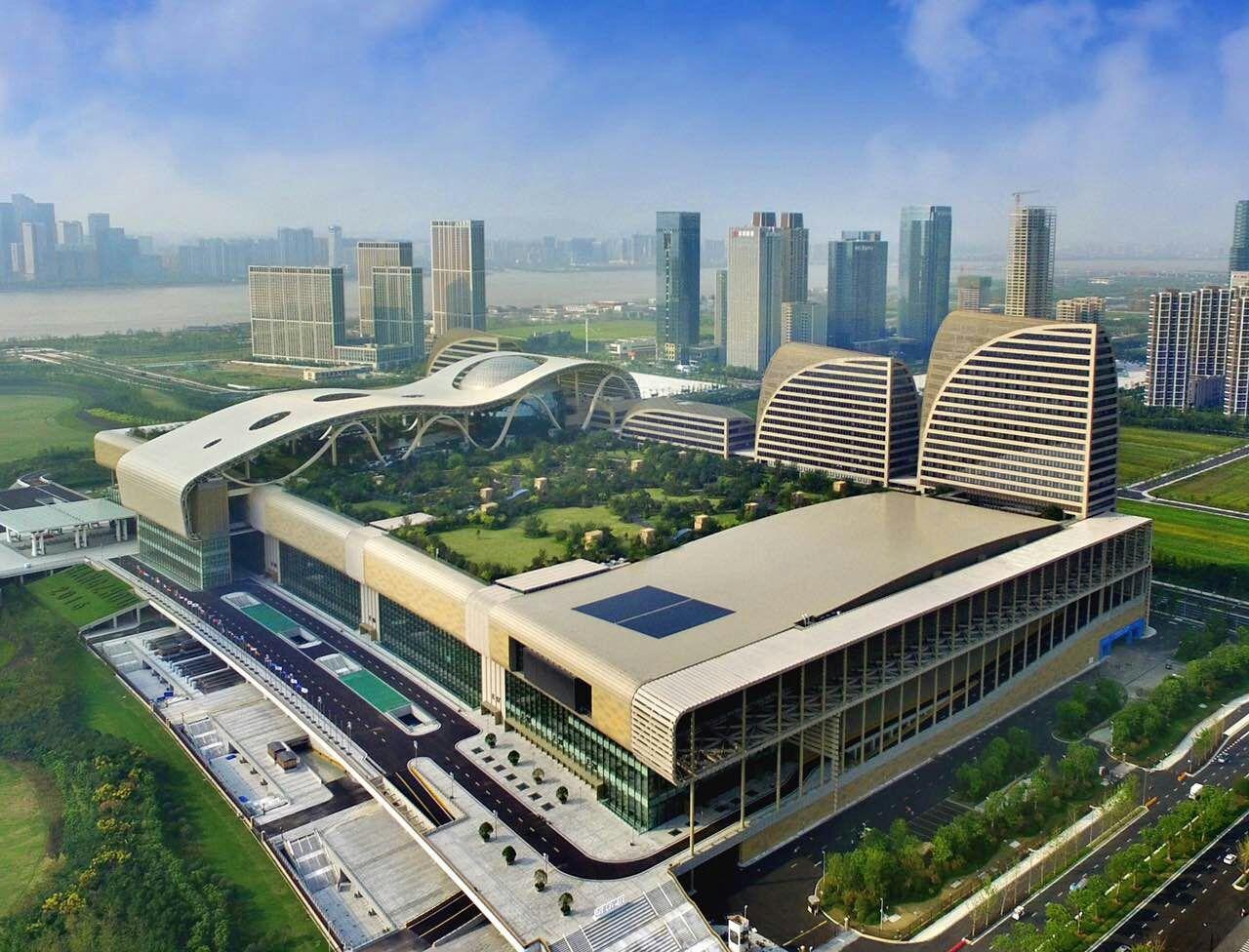 杭州奥体博览城(杭州G20峰会主会场)