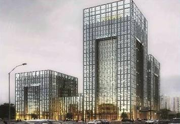 方大铝板签约青岛高新区创业中心