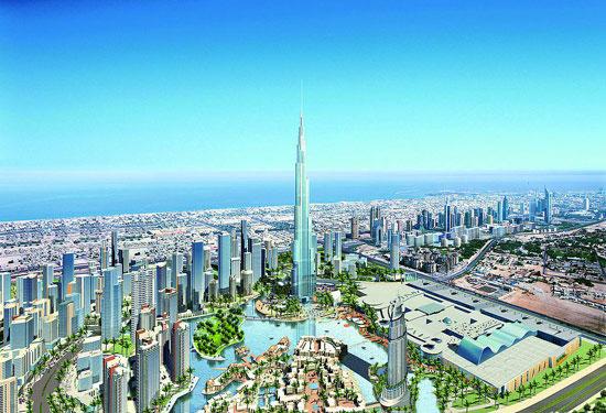 世界最高建筑迪拜塔