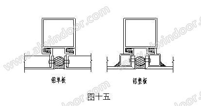 10,本系统铝单板,铝塑板结构,采用带挂钩连接件及带挂钩的方管,使