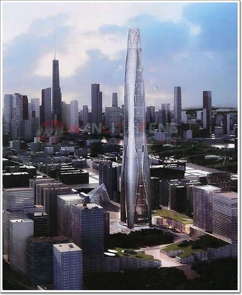盘点 中国十大在建摩天大楼