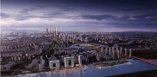 建筑作为中国的进口和出口业务的一个重要地标,能够促进广州的城市
