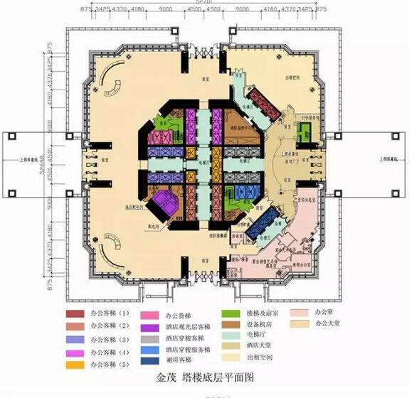 超过100米高层建筑核心筒设计实例分析