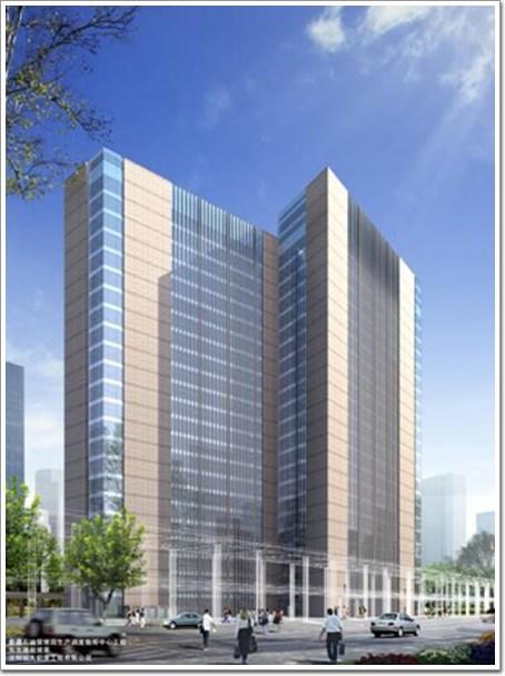 建筑设计:北京华优建筑设计院.