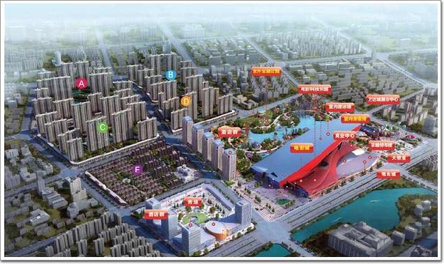 (图3,哈尔滨万达电影旅游城插曲分布图)角色微项目文化图片