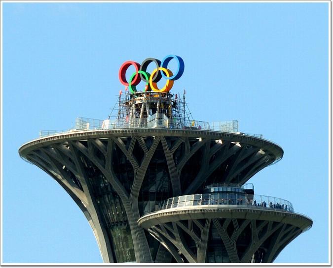 """北京的""""大钉子""""奥林匹克塔"""