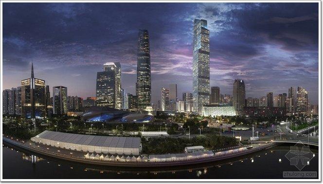 530米广州东塔正式竣工