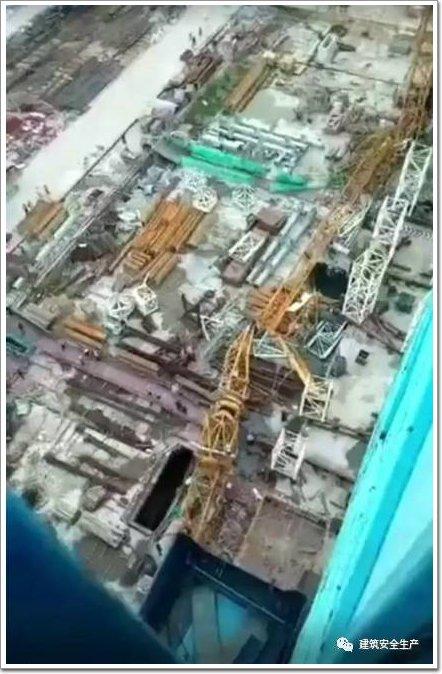 广东省广州市海珠区,中交集团南方总部基地b区项目发生一起塔吊倾斜